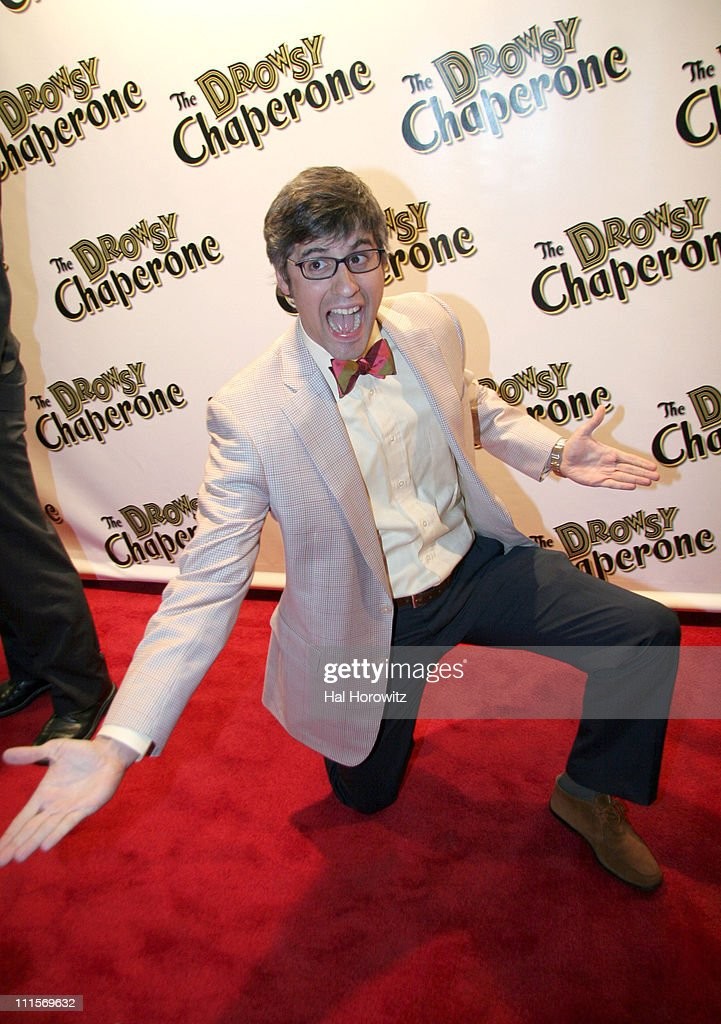 Mo Rocca during Opening Night of 'The Drowsy Chaperone' at Marquis Theatre in New York City New York United States