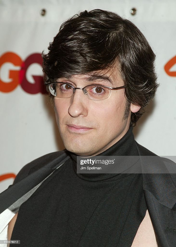 Mo Rocca during Spike TV Presents the 2003 GQ Men of the Year Awards Press Room at The Regent Wall Street in New York City New York United States