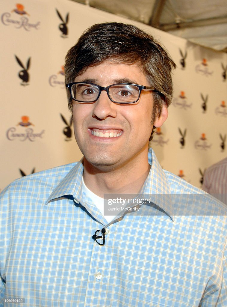 Mo Rocca during The Crown Royal Playboy Club on Derby Eve Hosted by The 2006 Playboy Playmate of The Year at Felt Nightclub in Louisville Kentucky...