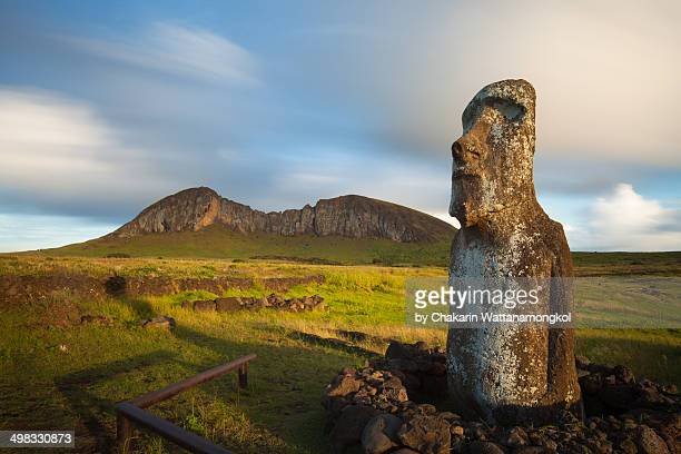 Moai and the Its Origin (Rano Raraku)