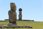 Moai of Ahu Tahai