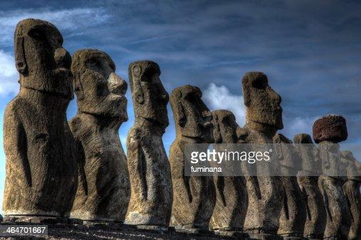 Moai of Ahu Tongariki