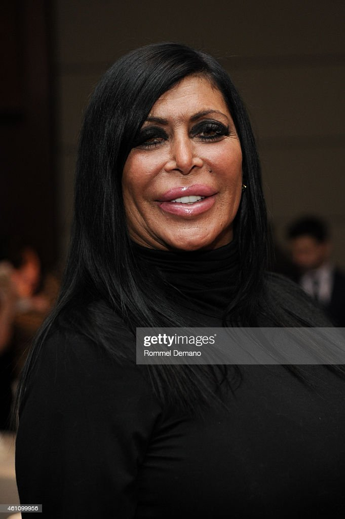 Mob Wives star Angela 'Big Ang' Raiola attends MDA's 18th Annual Muscle Team Gala at Pier 60 on January 6 2015 in New York City