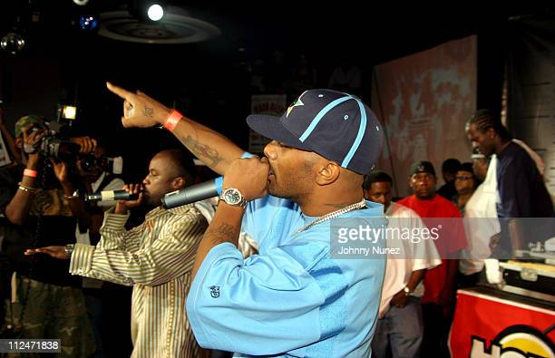 Mobb Deep during Mobb Deep Presents 'Amerikaz Nightmare' Album Release at Spirit in New York City New York United States
