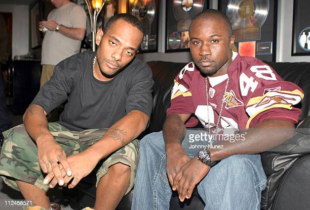 Mobb Deep during Mobb Deep Recording Session at Battery Studios in New York City New York United States