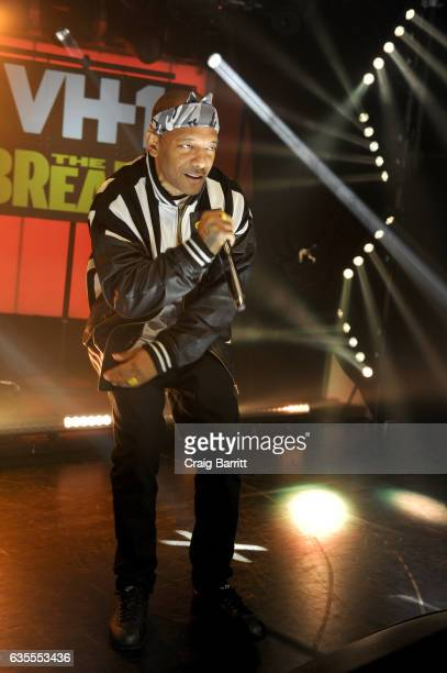 Mobb Deep preforms at VH1s 'The Breaks' series premiere event at iHeartRadio on February 15 2017 in New York City