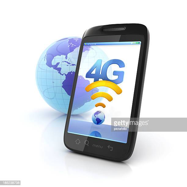 Mobile 4g network connection