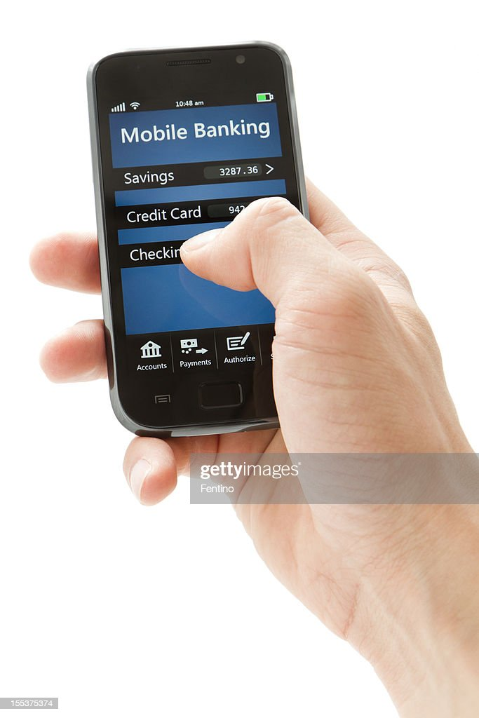 Mobile Banking on Smartphone - Generic