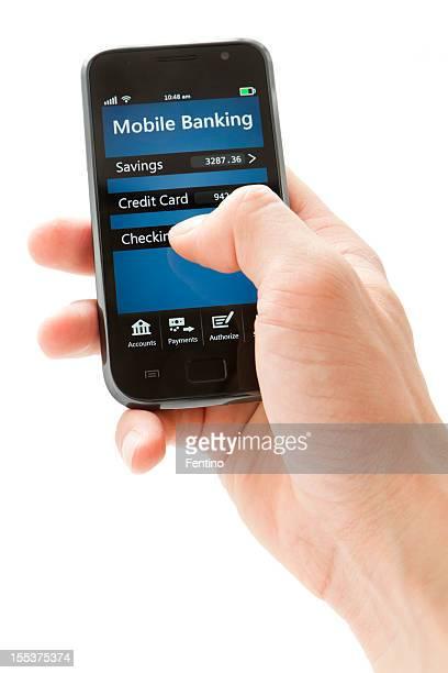 Services bancaires mobiles sur Smartphone générique