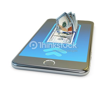 Mobile Banking Online Payment Wireless Money Transfer And E Wallet Concept