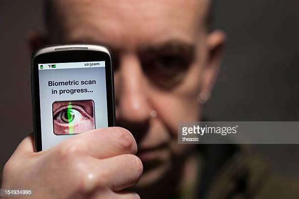 Mobile biometrischen Scan