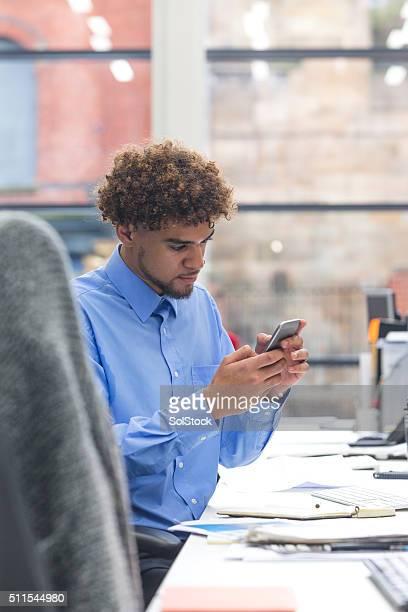 お勤め先の携帯電話