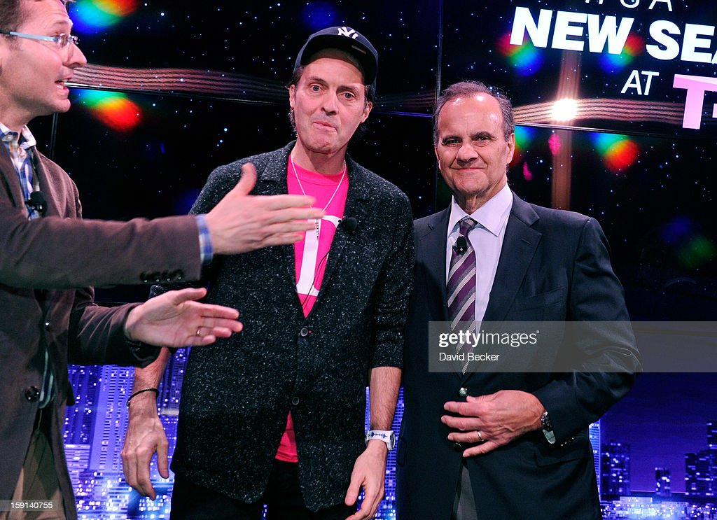 T Mobile Chief Marketing Officer Mike Sievert, T Mobile President and CEO John Legere and Major League Baseball's Executive Vice President of Baseball Operations Joe Torre appear at a news conference at the 2013 International CES at The Venetian on January 8, 2013 in Las Vegas, Nevada. CES, the world's largest annual consumer technology trade show, runs through January 11 and is expected to feature 3,100 exhibitors showing off their latest products and services to about 150,000 attendees.