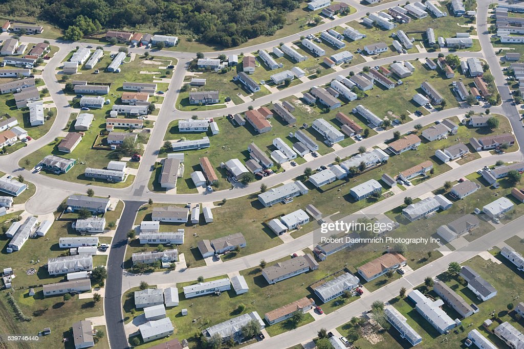 Mobile Home Park In Pflugerville Just North Of Austin