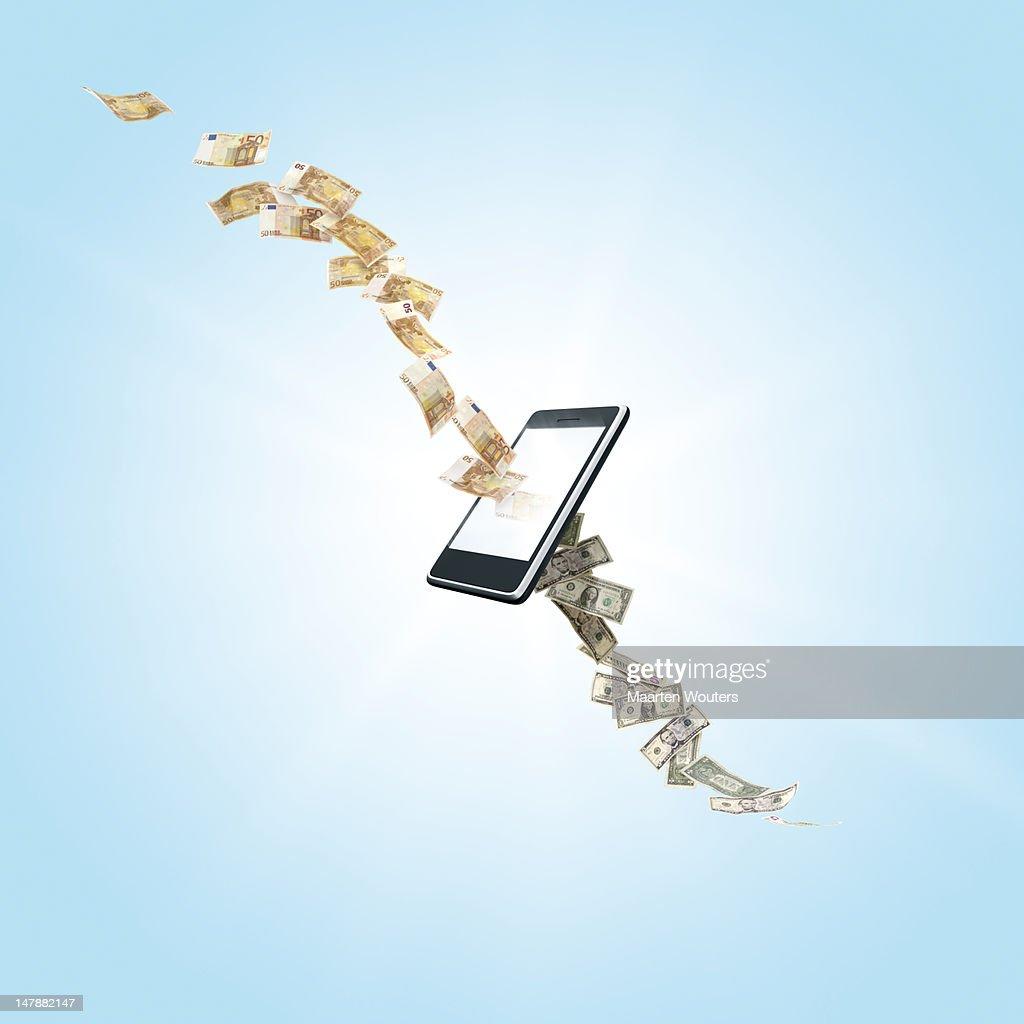 mobile life exchange 03 : Stock Photo