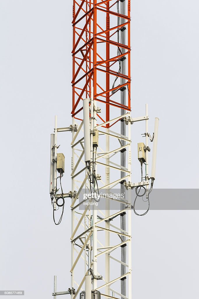 Mobile phone antenna : Stock Photo
