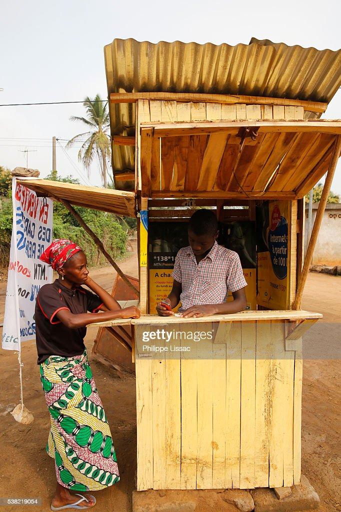 Mobile phone card shop
