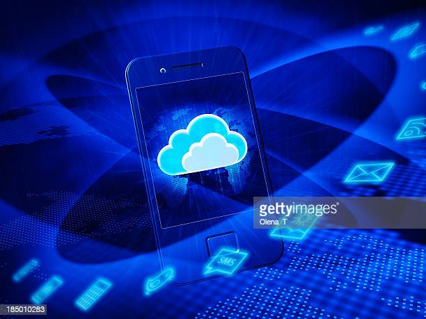 Mobiltelefon. Cloud computing