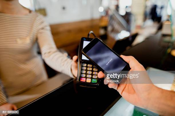 Mobile Phone Contactless Payment