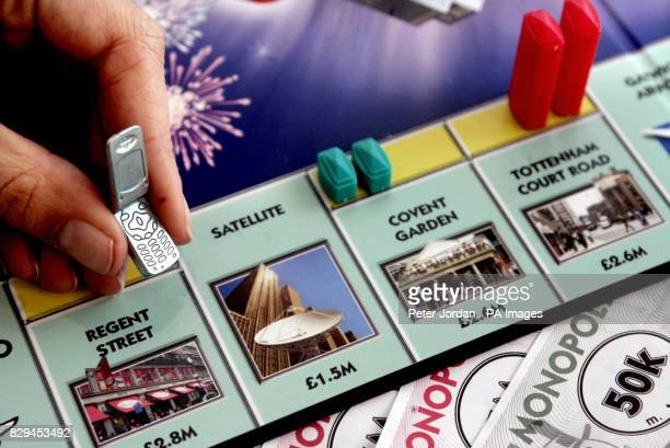 A mobile phone is amongst the new playingpieces in the all new Monopoly board game from Hasbro