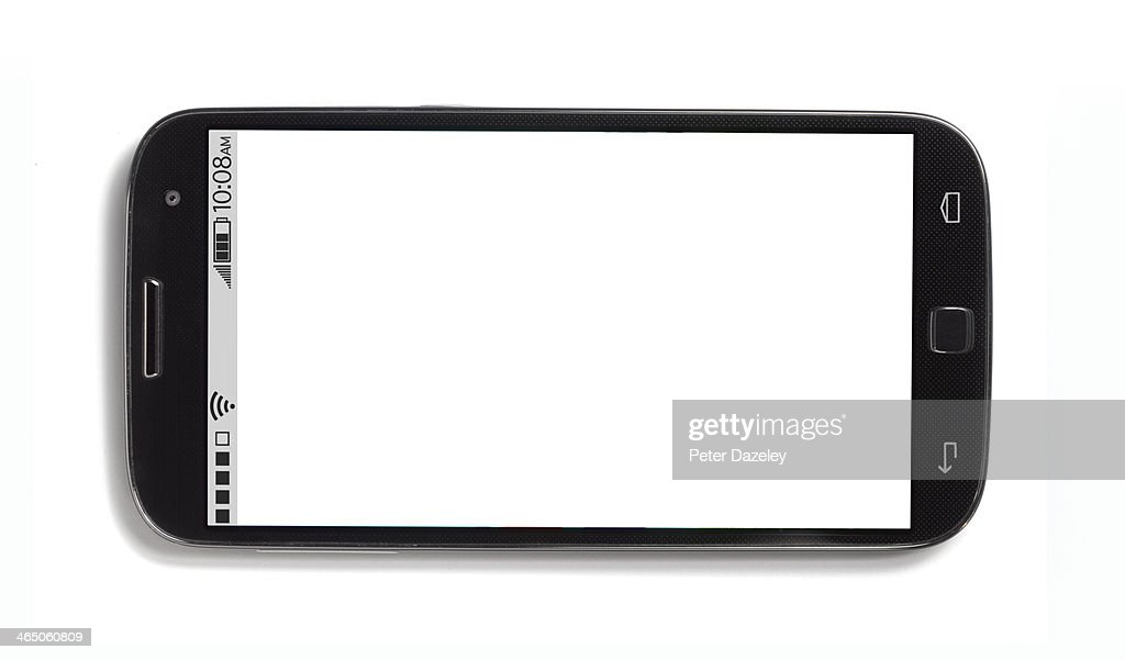 Mobile phone with copy space