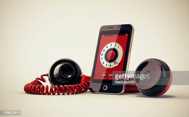 Mobile Phone With Retro Handset