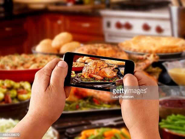 Photos sur mobiles de dinde rôtie
