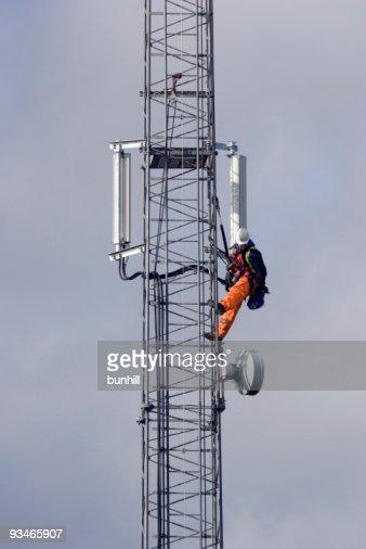 Mobile Telephone Cellphone Mast Maintenance