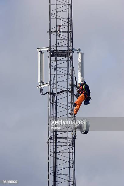 Mobile Telephone Cellphone Mast Maintenance