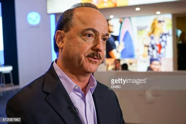 Ralph de la Vega ATT Vice Chairman and CEO ATT Business Solutions ATT International in an interview during Mobile World Congress 2016 in Barcelona...