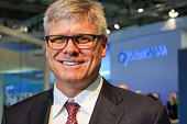 Steve Mollenkopf CEO of Qualcomm during Mobile World Congress 2016 in Barcelona Spain on February 23 2016