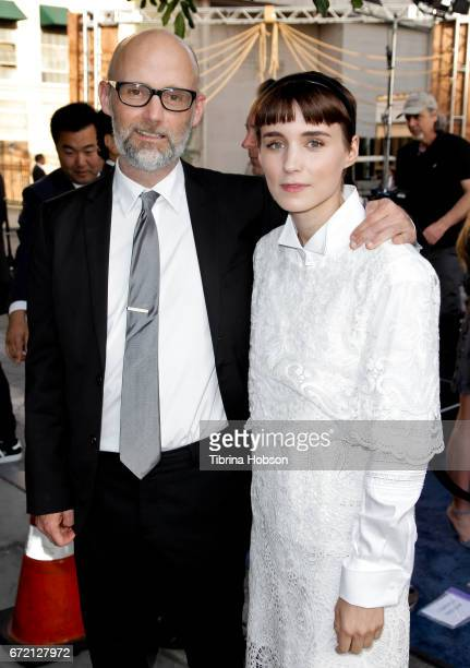 Moby and Rooney Mara attend the Humane Society's annual 'To The Rescue' Gala on April 22 2017 in Los Angeles California