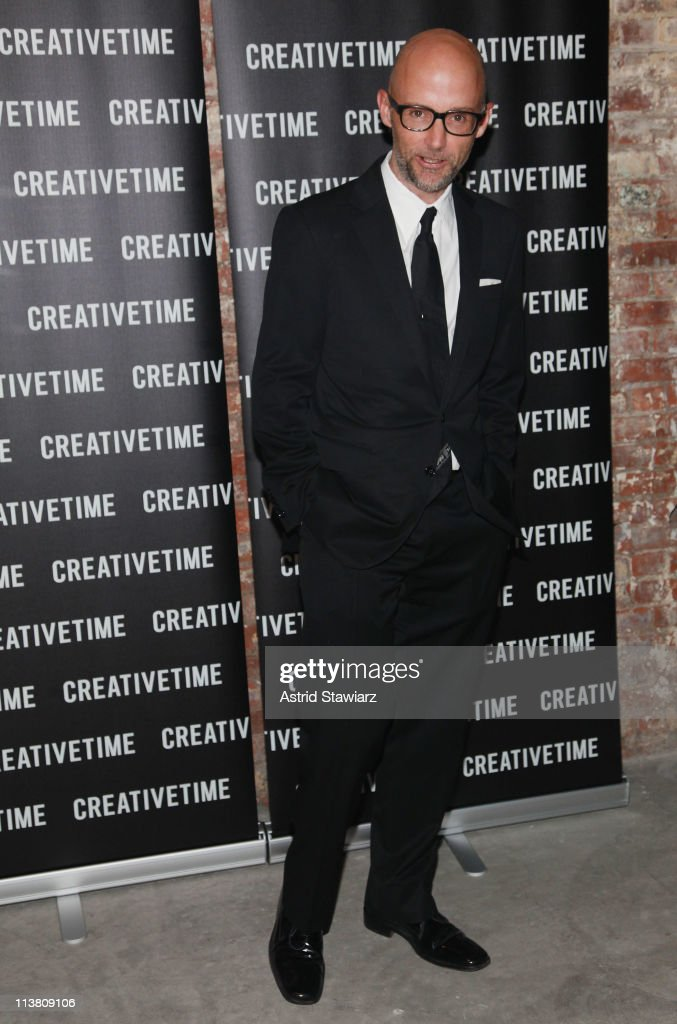 <a gi-track='captionPersonalityLinkClicked' href=/galleries/search?phrase=Moby&family=editorial&specificpeople=203129 ng-click='$event.stopPropagation()'>Moby</a> attends the 2011 Creative Time Spring Gala Benefit at Highline Stages on May 5, 2011 in New York City.