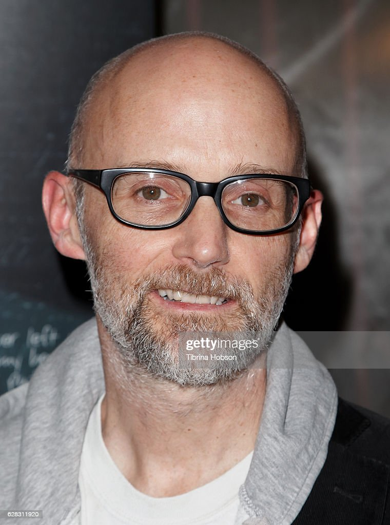 Moby attends the Screening of Amazon Studios 'Paterson' at the Vista Theatre on December 6, 2016 in Los Angeles, California.