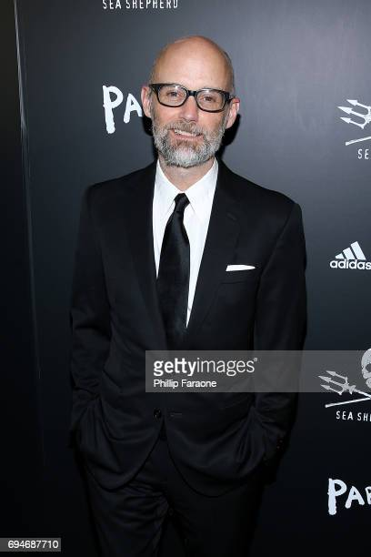Moby attends the Sea Shepherd Conservation Society's 40th Anniversary Gala For The Oceans at Montage Beverly Hills on June 10 2017 in Beverly Hills...