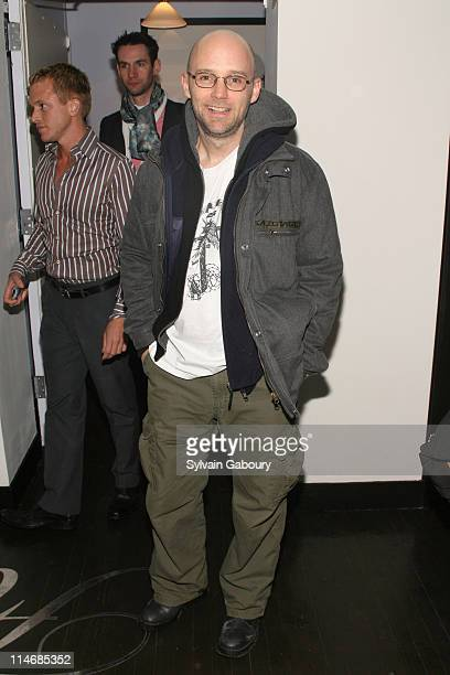 Moby during The Cinema Society and Frederic Fekkai Presented an After Party for 'Gray Matters' at Frederic Fekkai Soho at 394 West Broadway in New...