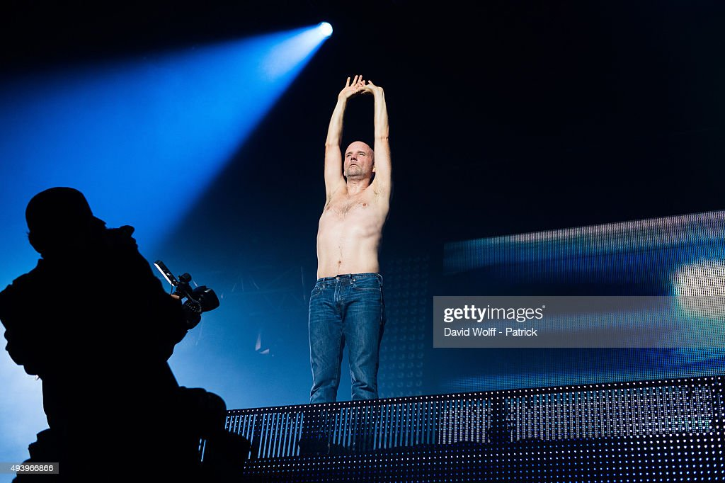 Moby performs at Le Zenith on October 23 2015 in Paris France
