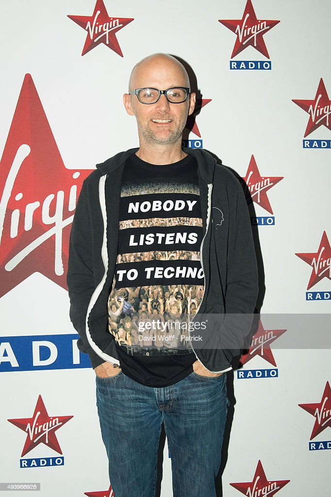 Moby poses at Le Zenith on October 23 2015 in Paris France