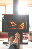 Moccasins by the Fire
