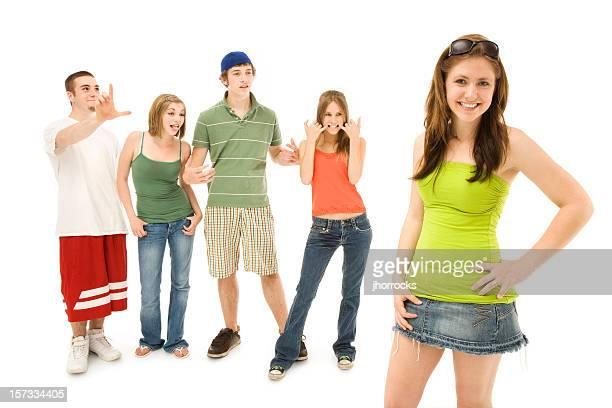 Mocking adolescents amis
