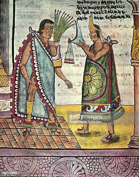 Moctezuma II or Montezuma ninth Aztec king