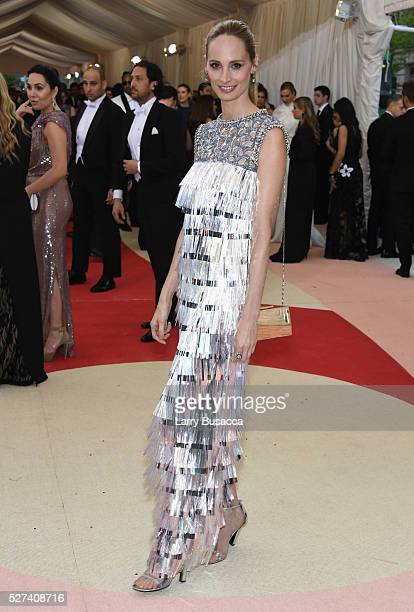 Moda Operandi cofounder Lauren Santo Domingo attends the 'Manus x Machina Fashion In An Age Of Technology' Costume Institute Gala at Metropolitan...