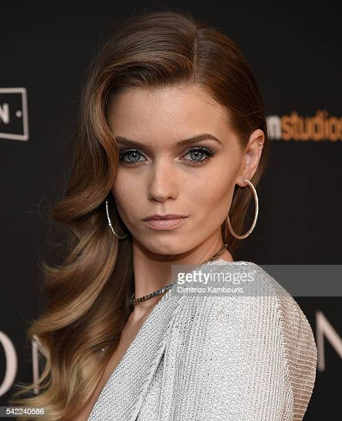 Model Abbey Lee attends the 'The Neon Demon' New York Premiere at Metrograph on June 22 2016 in New York City