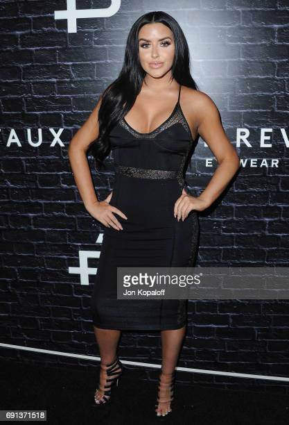 Model Abigail Ratchford arrives at Prive Revaux Launch Event at Chateau Marmont on June 1 2017 in Los Angeles California