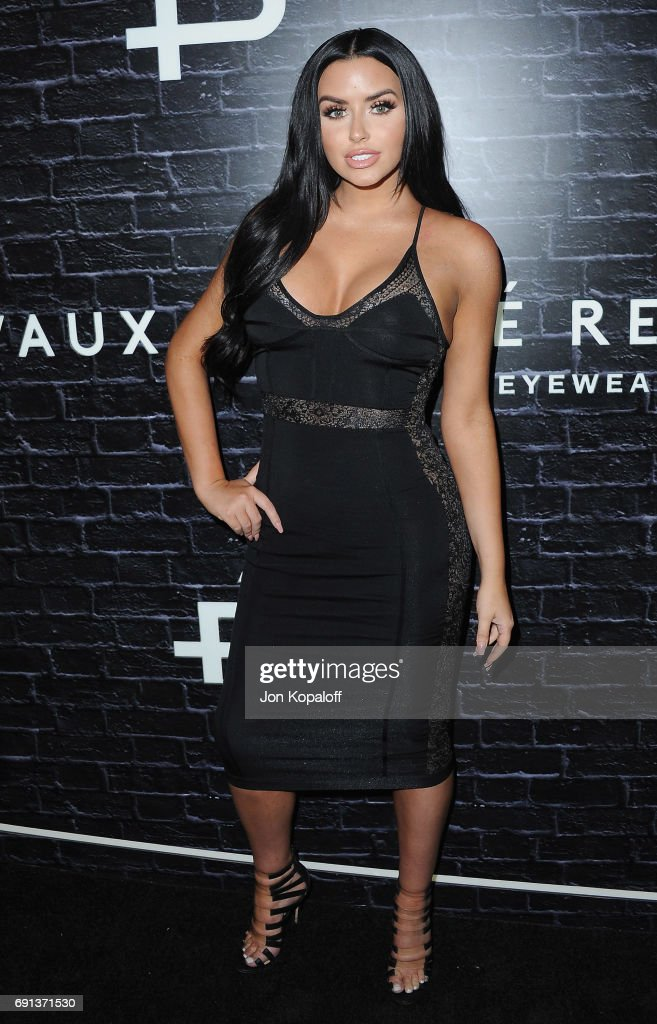 Model Abigail Ratchford arrives at Prive Revaux Launch Event at Chateau Marmont on June 1, 2017 in Los Angeles, California.