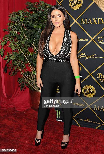 Model Abigail Ratchford arrives at the Maxim Hot 100 Party at the Hollywood Palladium on July 30 2016 in Los Angeles California