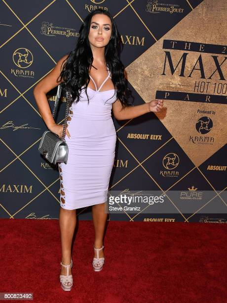Model Abigail Ratchford arrives at the The 2017 MAXIM Hot 100 Party at Hollywood Palladium on June 24 2017 in Los Angeles California