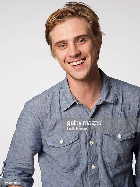 Model actor and artist Boyd Holbrook is photographed for Self Assignment on April 26 2011 in New York City