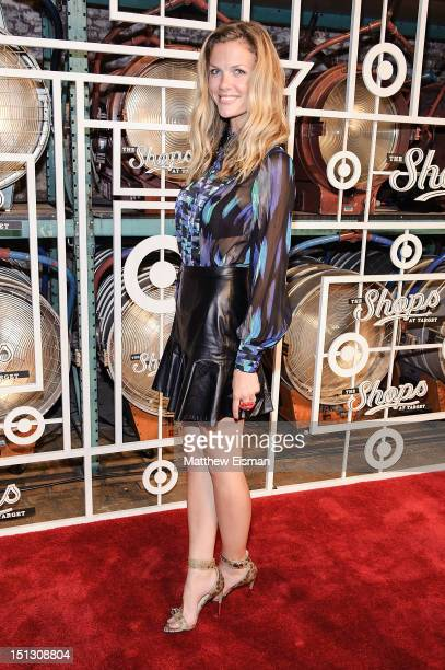 Model/ actress Brooklyn Decker celebrates The Fall Installment Of The Shops At Target at Highline Stages on September 5 2012 in New York City