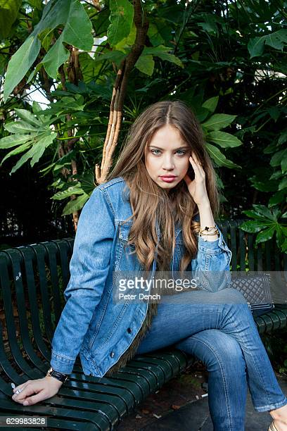 Model actress fashion influencer blogger and entrepreneur Xenia Tchoumitcheva photographed in west London UK